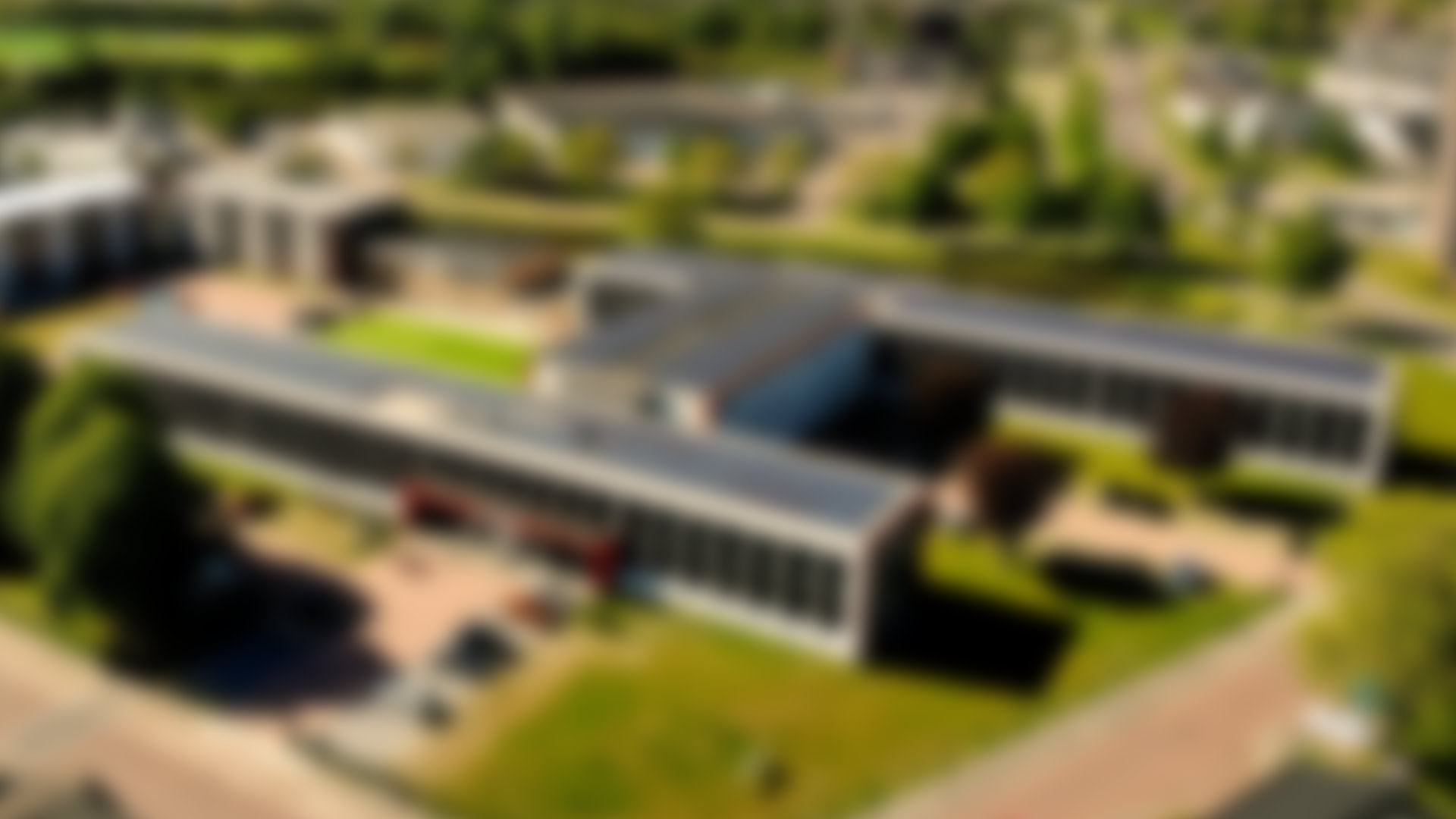 Campus Vlissingen drone shot banner