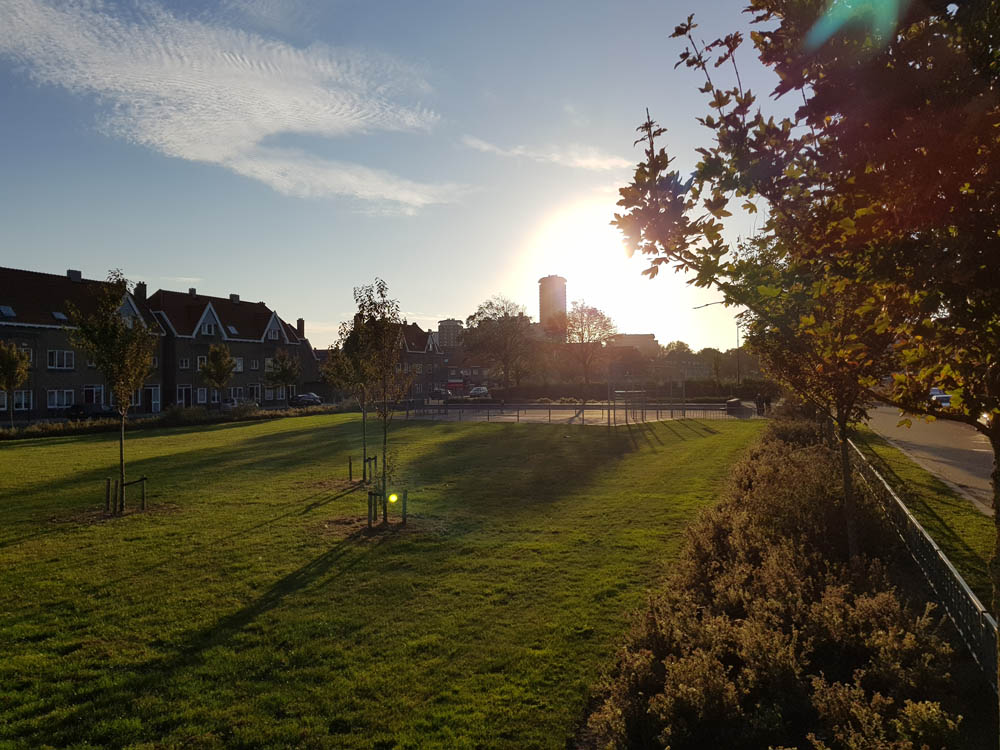 Vlissingen Engelse wijk - voetbalveld